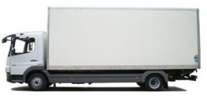 Small removal truck